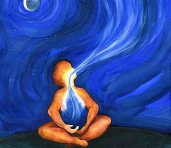 Вдыхание жизненной энергии
