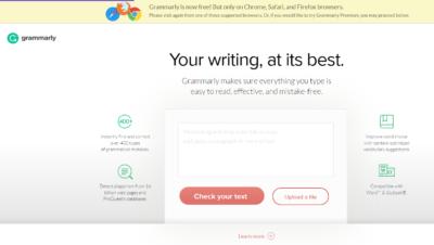 Проверка Grammarly.com