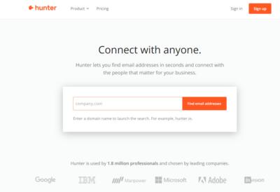 сервис Hunter